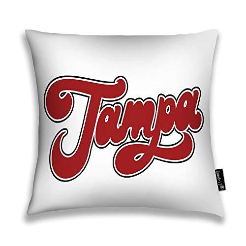 Randell Throw Pillow Covers Tampa Handwrittem Pin Ba