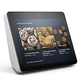 "Echo Show (2nd Gen) - Premium sound and a vibrant 10.1"" HD screen - Sandstone (B077THMYGN) 