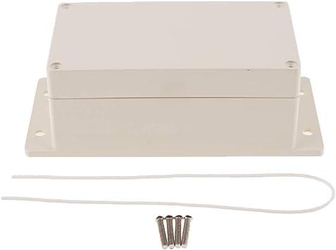 Caja De Empalmes De Bricolaje Para Proyectos Electrónicos Componentes Electrónico - Blanco B: Amazon.es: Bricolaje y herramientas