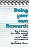 Doing Your Own Research, Eileen Kane, 0714528439