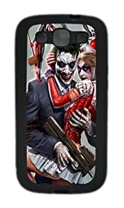 Joker and Harley Quinn Custom Design Samsung Galaxy S3 Case Cover - TPU - Black