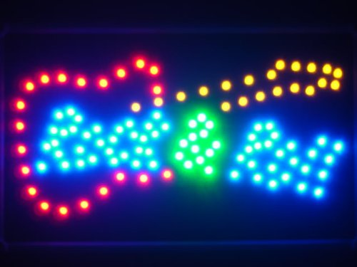 ADV PRO led022-b Guitar Rock n Roll LED Neon Light - Sign Rolls Led