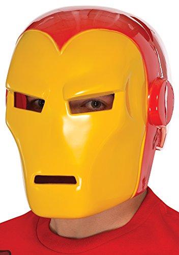 Rubie's Men's Adult Iron Man Mask, Multi, One