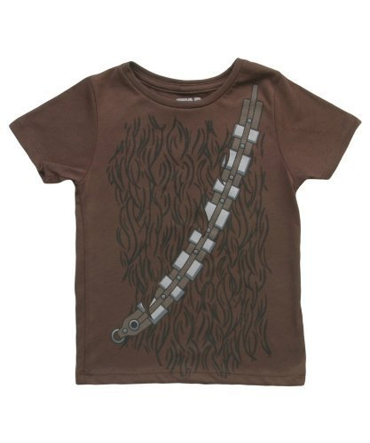 Star Wars I Am Chewbacca Todlers Brown Costume T-Shirt (Toddler 7T)
