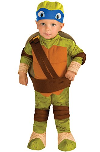 TMNT  Leonardo Romper, Shell and Headpiece for Infants