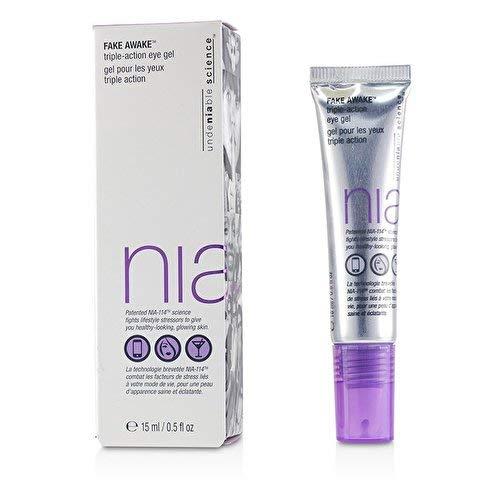 NIA Fake Awake Triple Action Eye Gel.5 fl. oz.