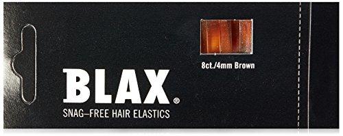 - Blax Blax Hair Elastics 4MM Brown