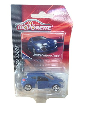 Majorette Renault Megane Coupe Blue 1/64 ()
