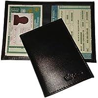 Carteira Porta Documento de Carro Moto e CNH em Couro R1