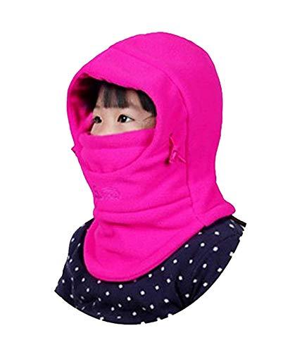 GG ST Childrens Windproof Hat Winter Thick Thermal Fleece Cap Ski Mack Warm Adjustable Balaclava Hood