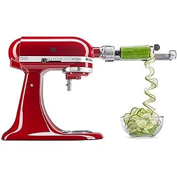 Amazon Com Kitchenaid R Ksm1apc Spiralizer Attachment