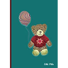 Ethi Pike - Tiny Teddy Notebook / Extended Lines / Soft Matte Cover: An Ethi Pike Collectible Journal