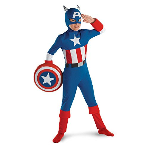 Costume America 10-12 Captain (Captain America Classic - Size: Child)