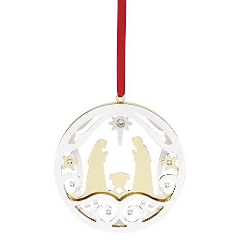 Lenox 870955 Stamped Metal Nativity (Ornaments Religious)