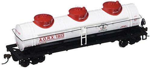 Bachmann Industries Allegheny Refining 40' Three-Dome Tank Car (HO Scale Train) ()
