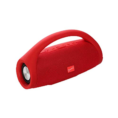 Supersonic SC2319BTRD Bluetooth Portable Speaker with Built-in Handle (Red), One Size,