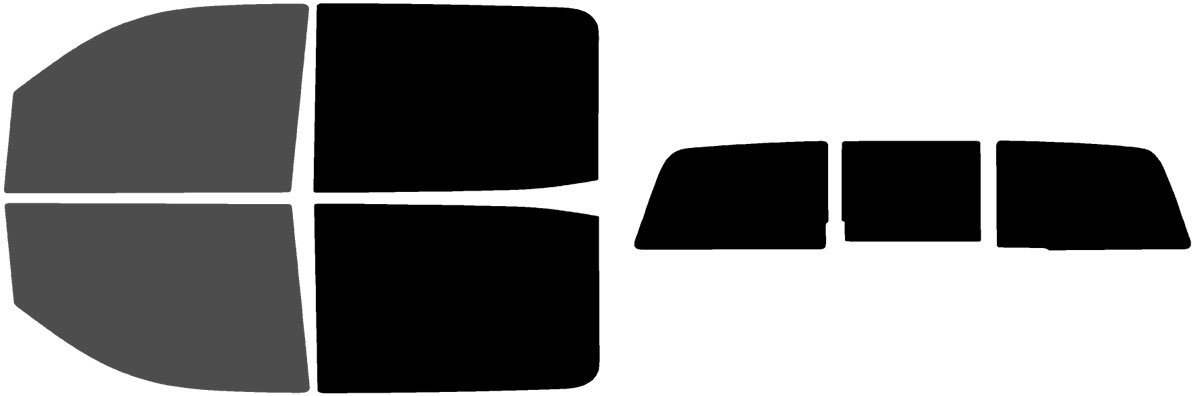 2015 2016 2017 2018 /& Includes: Front Visor precut in 30/% Fits: GMC Sierra 1500 Crew Cab 2014 Precut Window Tint Kit Automotive Window Film 2019 Limited