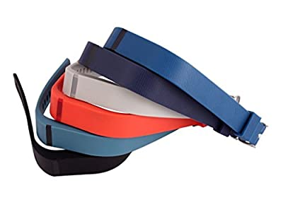 i-smile® 2015 Newest Replacement Wristband with Secure Clasps for Fitbit Flex Only (No tracker, Replacement Bands Only)