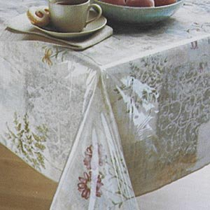 Elrene Home Fashions Clear Table Protector 70'' x 120'' Oblong by Everyday Luxuries by Newbridge