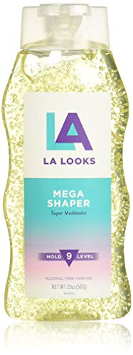 - LA Looks Mega Shaper, #9 Hold Level, 20 Ounce