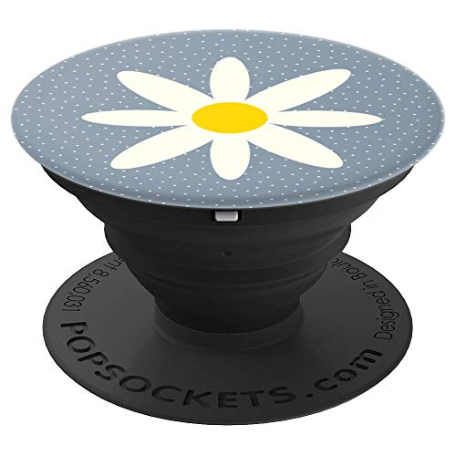Lazy Hazy Daisy Days of Summer - PopSockets Grip and Stand for Phones and Tablets