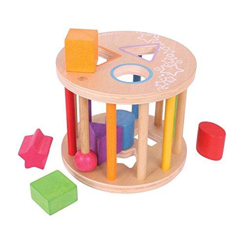 t Wooden Rolling Shape Sorter (Bigjigs Toys)