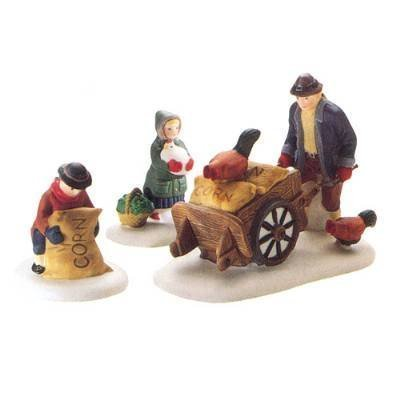 Department 56 Harvest Seed Cart Heritage Village Collection