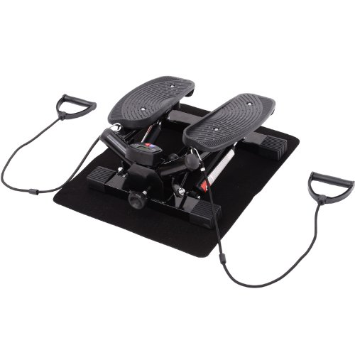 Homcom Mini Stepper Exercise Stepper Machine Legs Arms Thigh Toner Toning...