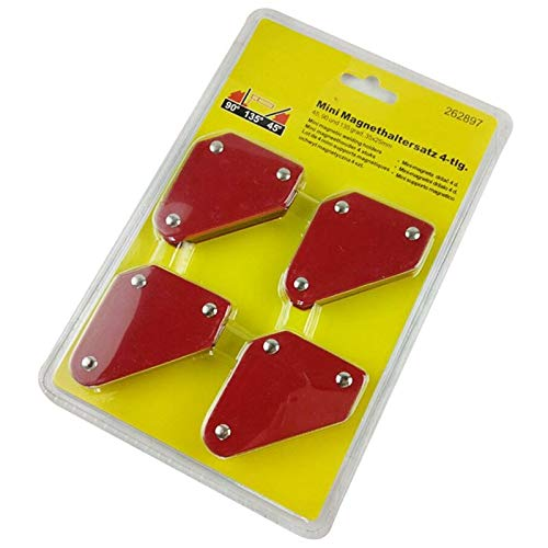 (Weld Holders | Pcs/set Mini Triangle-Welding Positioner 9Lb Magnetic Fixed Angle Soldering Locator Tools Without Switch Welding Accessories | by)