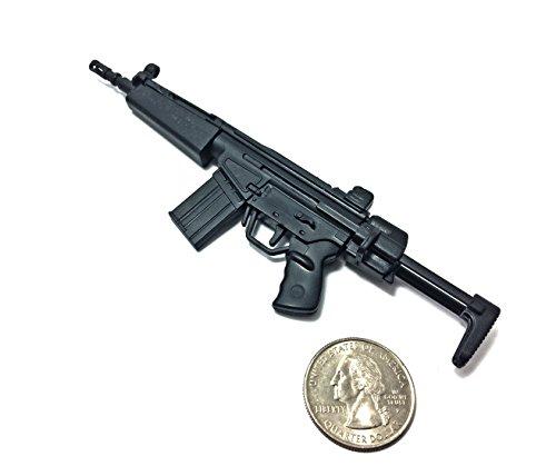 4D 1/6 Scale HK53 Compact Assault Rifle Gun H&K German Miniature Toy Guns Model Fit For 12