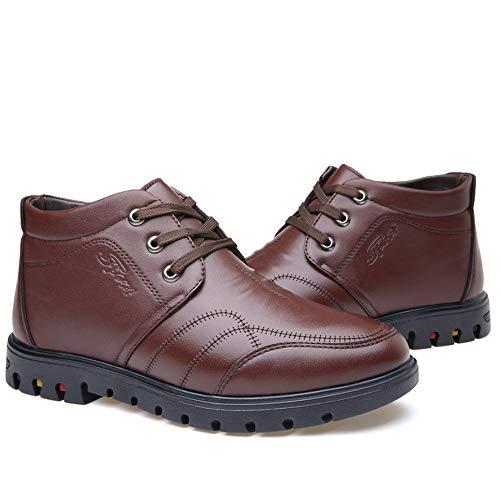 2018 2018 2018 Caviglia Marrone Color per da Tempo alla alla alla alla Libero Dimensione Jiuyue Lavoro Uomo 41 EU da Uomo Il Casual shoes Stivaletti Stivali Scarpe Stivali Scarpe Marrone da qwRXAH1