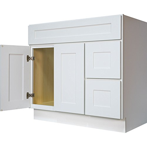 Everyday Cabinets Swhvsd3621dl Bathroom Vanity Single Sink