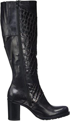 Donna Piu Damen 9997 Gabriella Klassische Stiefel Noir (Air Nero/Boreale Nero)