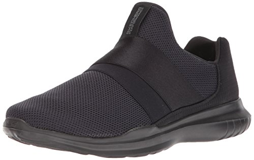 Skechers Run Scarpe Indoor Donna Mania Sportive Mojo Nero Go Black 5nTxnF