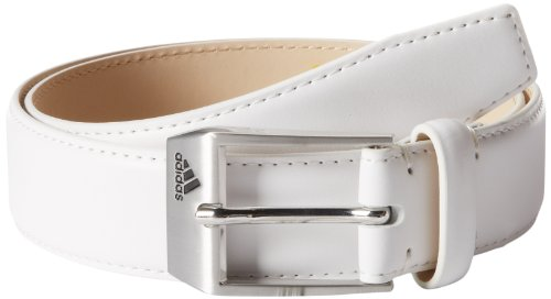 adidas Golf Performance Belt, White, 42-Inch - Adidas Sport Performance Buckle
