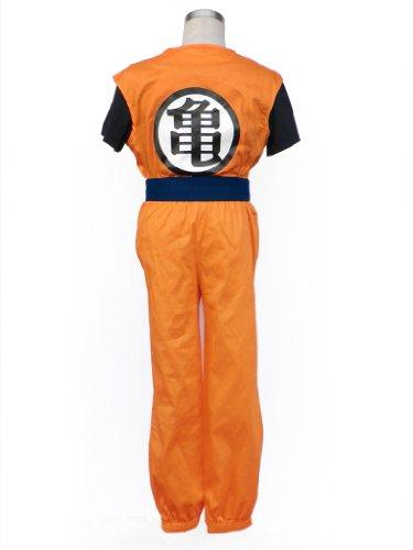 Dazcos Dragon Ball Goku Men's and Kids Cosplay Costume (Child M) (Goku Children)