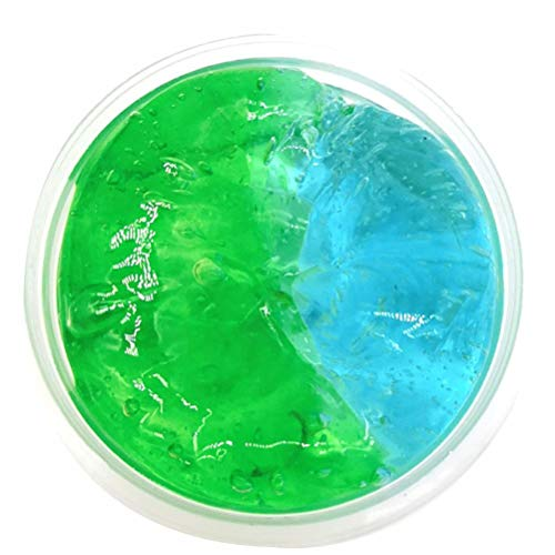 Feccile Slime Toy, Non-Sticky Super Soft Mixing Color Slime Putty Squeeze Mud Clay Stress Relief Toy Kids Adults,No Borax (C)