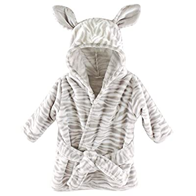 Hudson Baby Plush Bathrobe, Zebra
