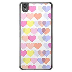 Loud Universe OnePlus X Love Valentine Printing Files Valentine 99 Printed Transparent Edge Case - Multi Color