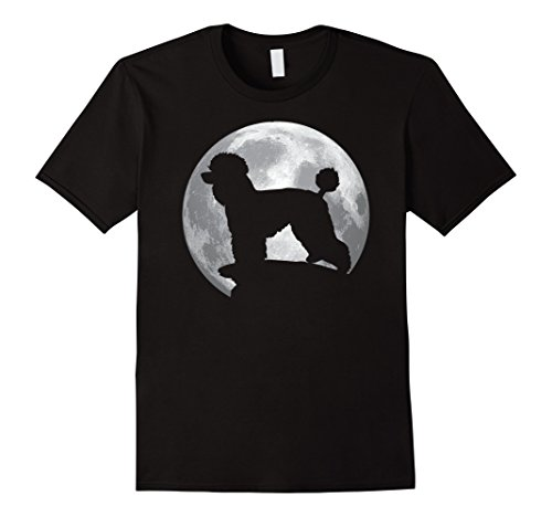 Dog Orca Costume (Mens Toy Poodle Dog T-shirt Halloween Costume Large Black)