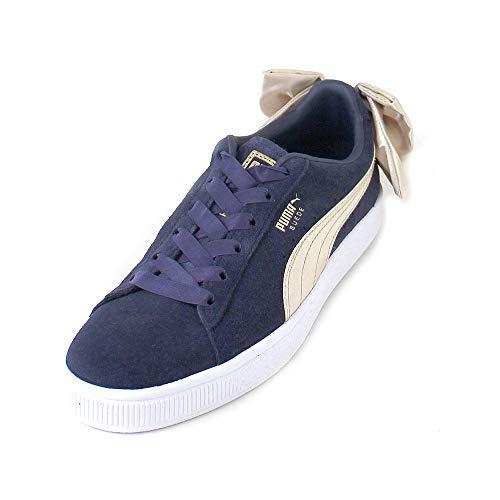 Puma BSQT Chaussures Bow W Bleu ZwqZYr Suede FTlJcK1