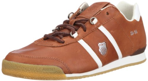 K-Swiss SI-16 02822-168-M - Zapatillas de cuero para hombre Marrón (Braun (Sturdy Brown/Bone))