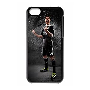 Vxeh Real-Madrid-Black iPhone 5c Cell Phone Case Black