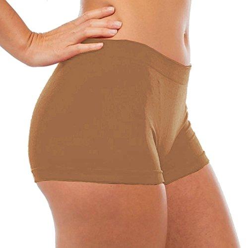 Tan Boys Shorts - 5