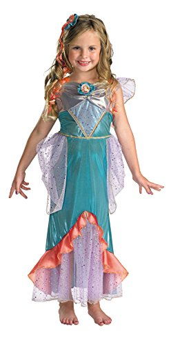 [Ariel Deluxe Costume - X-Small] (Ariel Costumes Toddler)