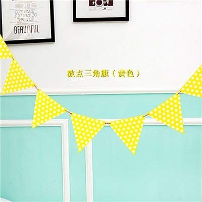 Antaram Banner Diy - 1set Dot Stripe Paper Flag Banner Amp Flags Garland Floral Bunting Banners Diy Kids Birthday Wedding - Kit Letters (Flags & Amp ; Banners)