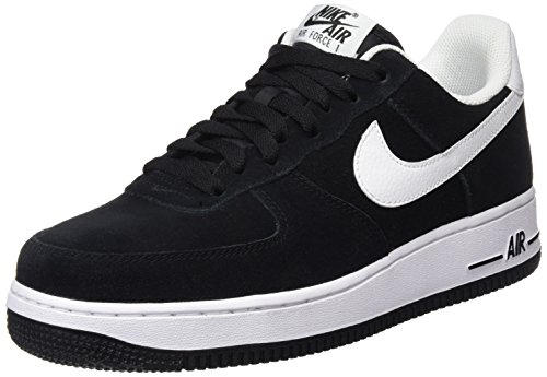 Nike Mens Air Force 1 Low 07 Basketball Shoes Black/White 315122-068 Size 10 – DiZiSports Store