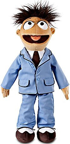 The Muppets Exclusive 18 Inch DELUXE Plush Figure Walter