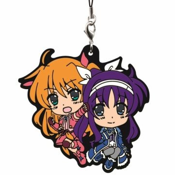 ichiban-kuji-premium-rubber-strap-magical-girl-lyrical-nanoha-innocent-1st-duel-arisa-bunnings-and-s