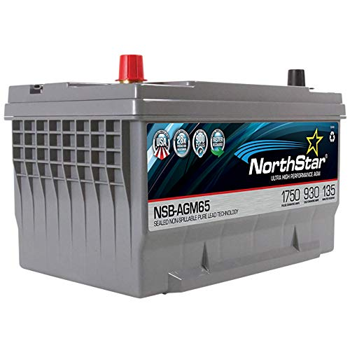 - NORTHSTAR Pure Lead Automotive Group 65 Battery NSB-AGM65